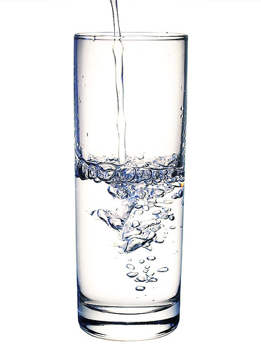 agua evita infartos
